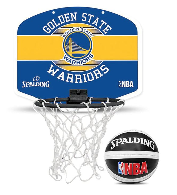 NBA Mini Backboard Set- Golden State Warriors