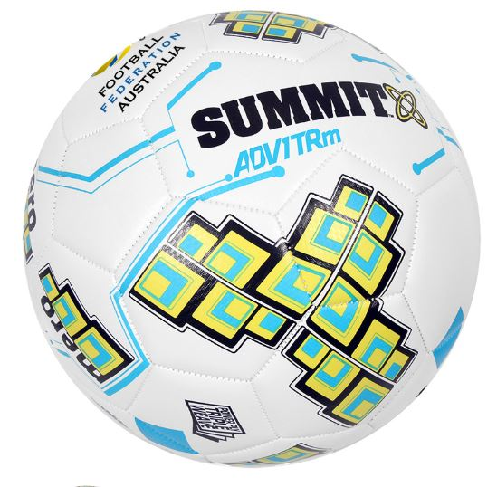 Summit ADV1 TRM White Soccer Ball - Little Rookie Sport (1913061605422)