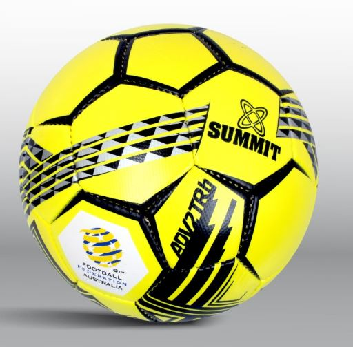 Summit ADV2 TRP Yellow Soccer Ball