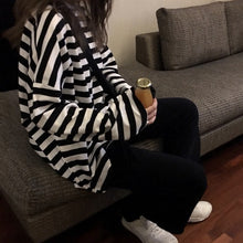 Load image into Gallery viewer, Casual Basic Stripy Shirt H3789
