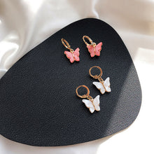 Load image into Gallery viewer, Mini Butterflies Earrings  A001