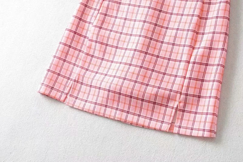 Molly Plaid Skirt
