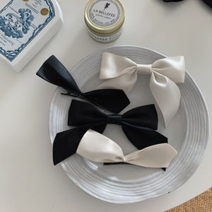 Jisoo Inspired Bow Tied Clip A037