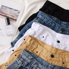 Load image into Gallery viewer, Retro Oversized High Waist shorts H0182