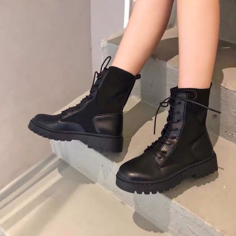 Preppy Style Martens Boot