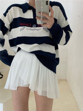 Load image into Gallery viewer, Classic & Casual Polo Stripes Sweater