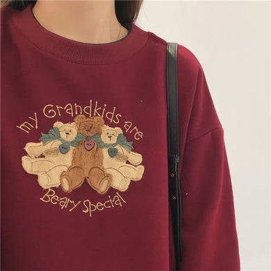 My Grandkids are Beary Special Sweater 🧸🎈H0012