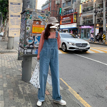 Load image into Gallery viewer, Janice Denim Overalls H6569