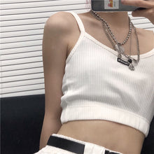 Load image into Gallery viewer, Basic Cropped Tank Top H3801