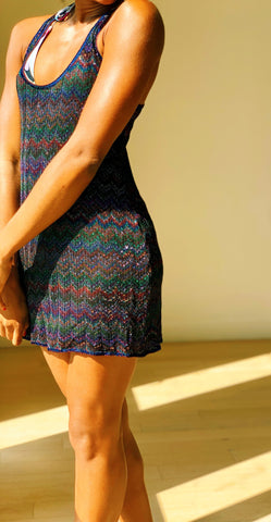 Missoni Mare Metallic Beach Dress
