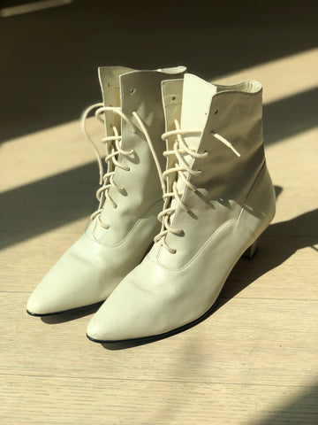 Vintage Victorian Style Boots