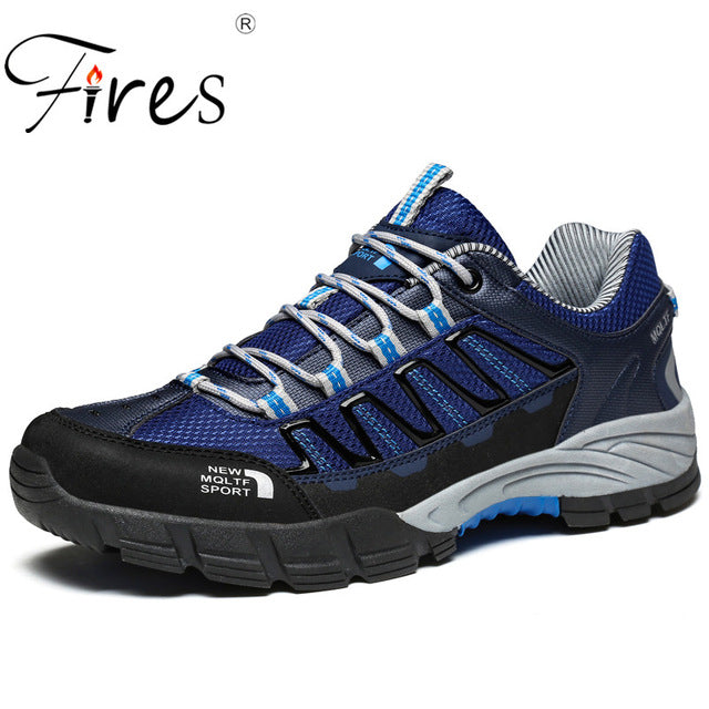 Fires Trends Brand Men's Outdoor Autumn Walking Hiking Climbing Non-Slip Shoes