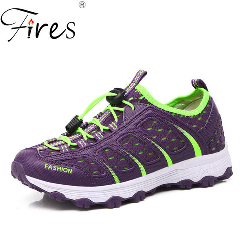 Image of Fires Cool Mesh Light Weight Women's Hiking Climbing Walking Shoes