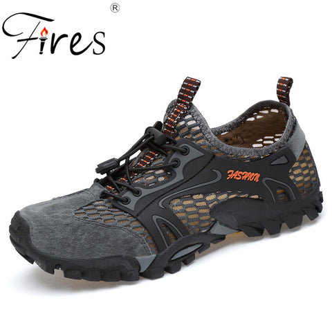 Image of Fires Men's Breathable Air Mesh Outdoor Sport Hiking Trekking Climbing Shoes