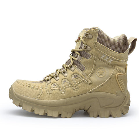 Image of New! Men's Desert Tactical Military Sports Hiking Boots