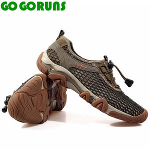 Men's Sport Mesh Breathable Summer Hiking Trekking Shoes