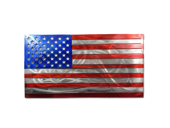 Flag-metal-art- metal flag-powdercoat-