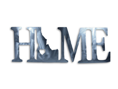 HOME STATE Metal State Sign