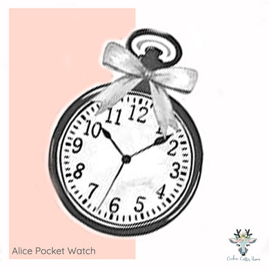 Alice Pocket Watch -  Cookie Cutter - CQ737