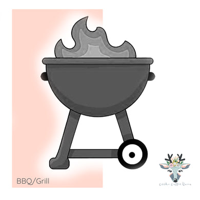 BBQ/Grill Cookie Cutter - CQ704