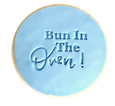 Bun In The Oven - Fondant Stamp/Embosser