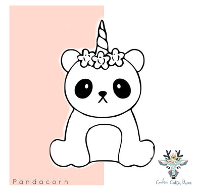 Pandacorn Cookie Cutter - CQ212
