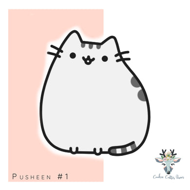 Pusheen #1  Cookie Cutter - CQ546