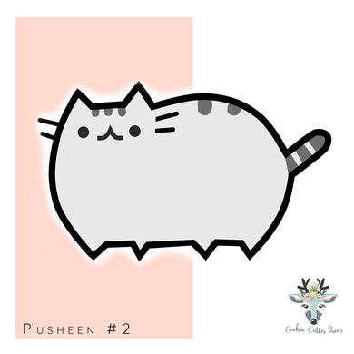 Pusheen #2  Cookie Cutter - CQ547