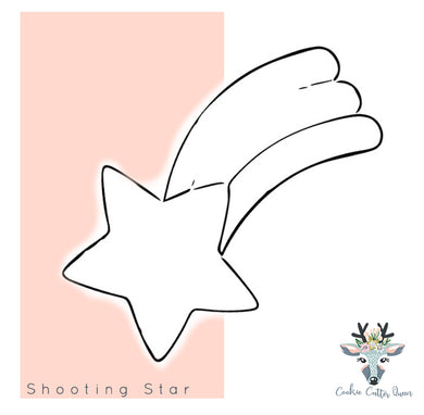 Shooting Star Cookie Cutter - CQ234