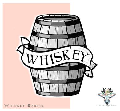 Whiskey Barrel Cookie Cutter - CQ507