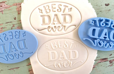 Best Dad Ever -  Cutter and Embosser/Debosser