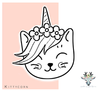 Kittycorn Cookie Cutter  - CQ403