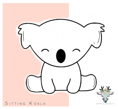 Sitting Koala Cookie Cutter - CQ434
