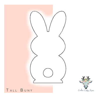 Tall Bunny Cookie Cutter - CQ585