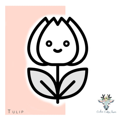 Tulip Cookie Cutter - CQ569