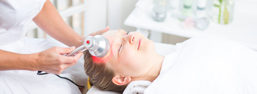 professional red light therapy treatment in medical spa