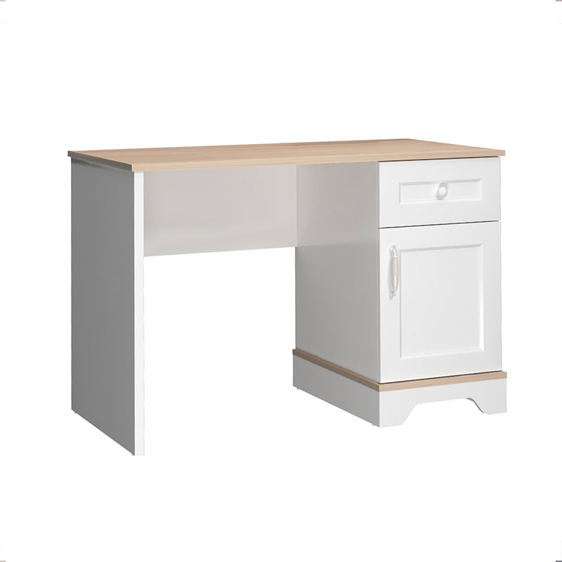 Bianca Two Drawer Study Desk in Satin White