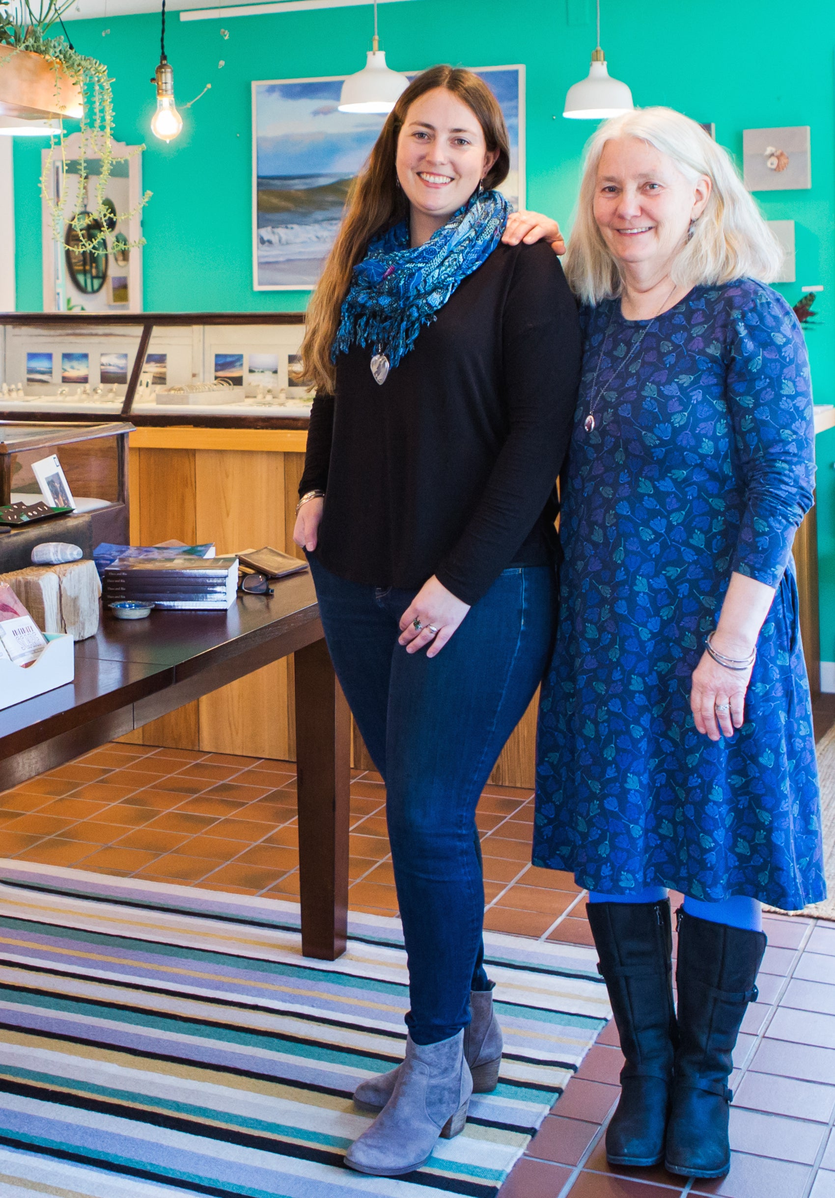 Jenny and Molly Avellar, owners of Adorn in East Orleans, Cape Cod