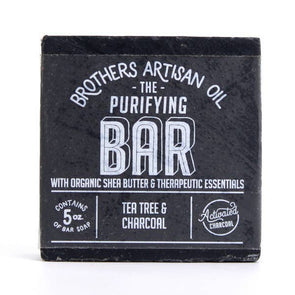 The Purifying Bar: Tea Tree & Charcoal Soap