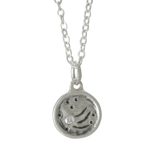 Mini Stargazer Necklace | Silver