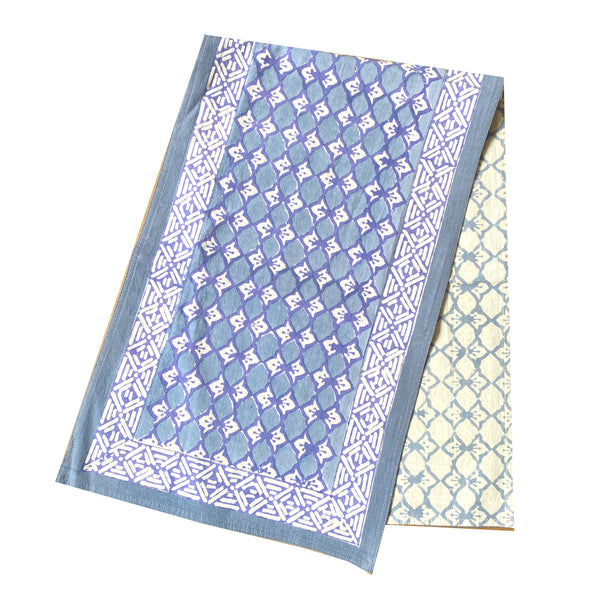 Datuna Block Print Table Runner