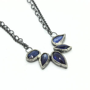 Kyanite Floral Necklace