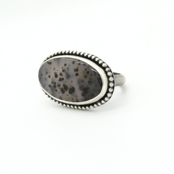 Montana Agate Ring | Size 9