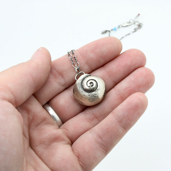 Little Moon Snail Necklace