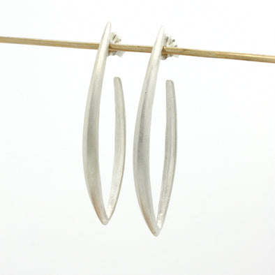 Dagger Stud Hoop Earrings