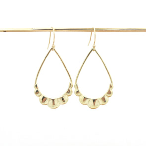 Scallop Earrings | 14k Gold