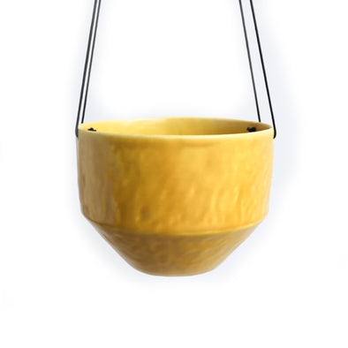 Medium Pinched Hanging Planter | Daybreak