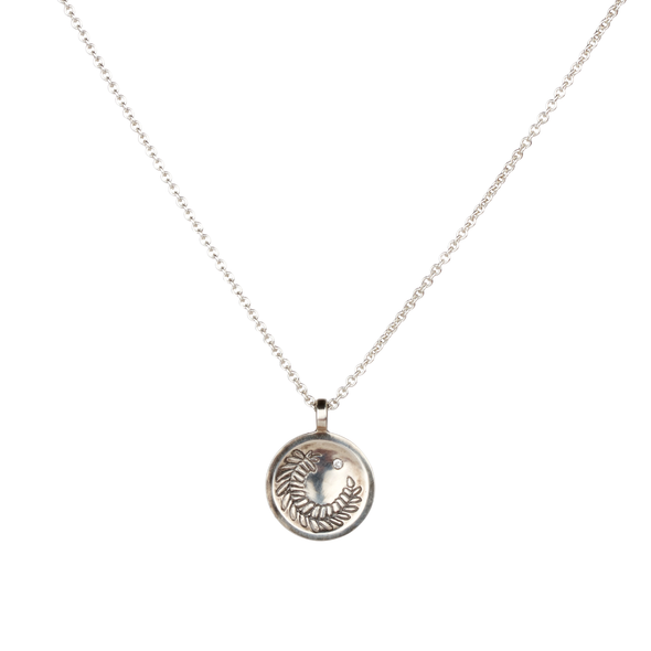 Fern Medallion Necklace