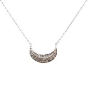 Crescent Fern Necklace
