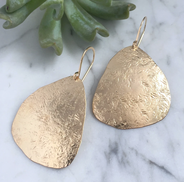 Nugget Drop Earrings